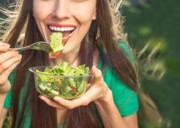 Ragazza Vegana Vegetariana